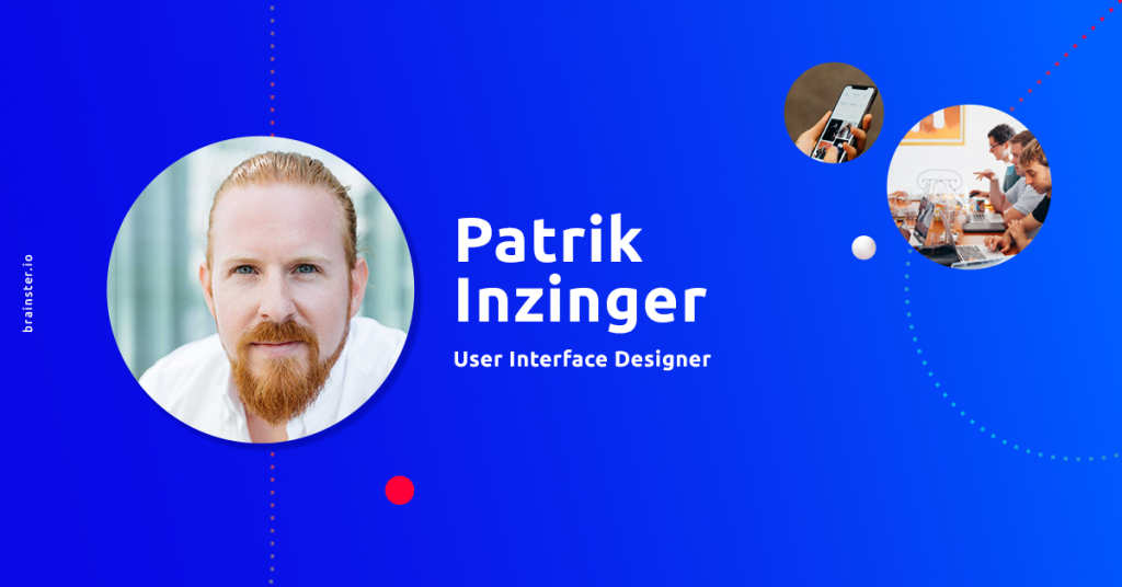Patrik Inzinger: Beginners should ask for projects that require problem-solving I UX/UI Design