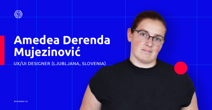 Meet Amedea — Ljubljana-based UX Designer and Brainster Vienna instructor