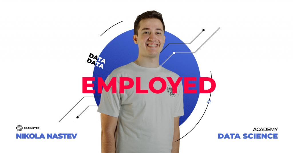 Nikola from the Data Science Academy got a job in the Slovak AI company i.ERP!