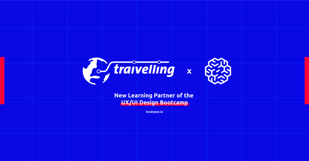 Meet Traivelling - A new Learning Partner of the UX/UI Bootcamp