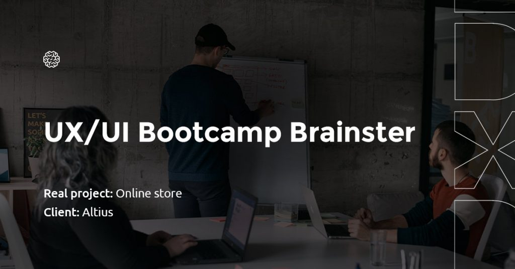 Online shop_Hackathon_UX Design Bootcamp_Brainster
