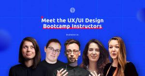 Meet the UX/UI Design Bootcamp instructors