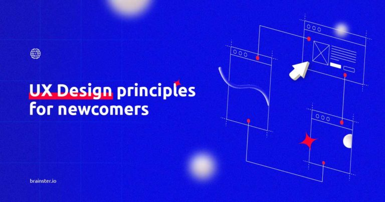 UX design principles for newcomers