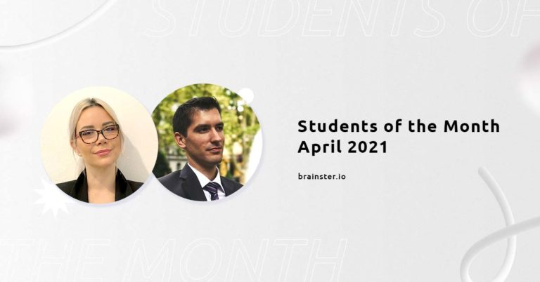 Meet our Students of the Month   Brainster