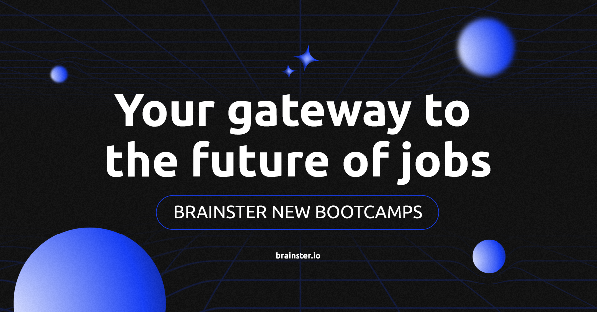 Brainster's new Bootcamps – your Gateway to the future of jobs