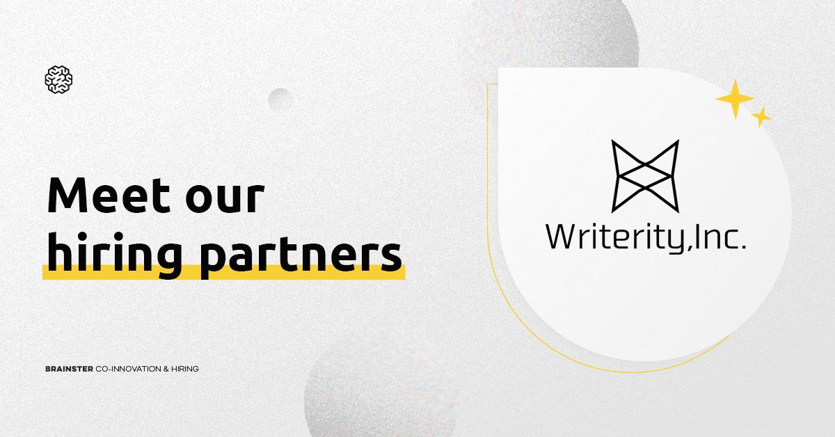 Writerity – our Japanese hiring partner