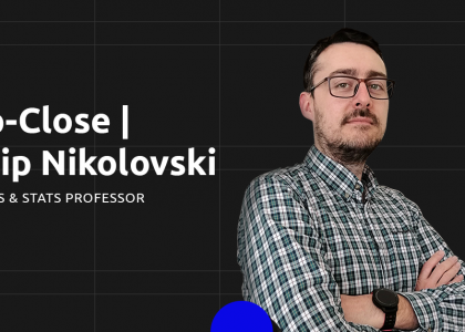 In the core of Data Science with Filip Nikolovski